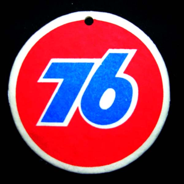 Union 76 Red & Blue Air Freshener