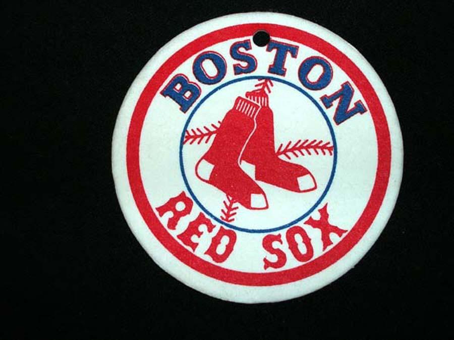Boston Red Sox Circle Air Freshener