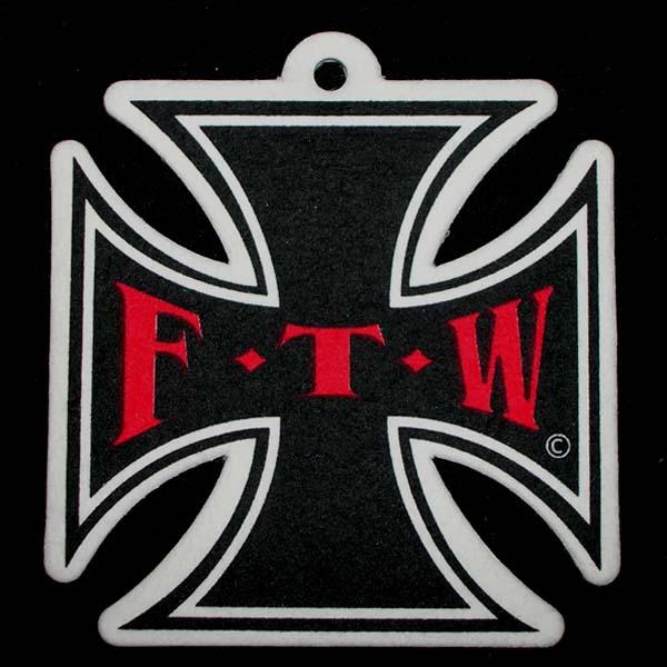FTW Maltese Iron Cross Air Freshener
