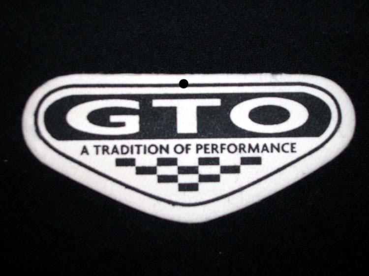 Pontiac GTO Air Freshener