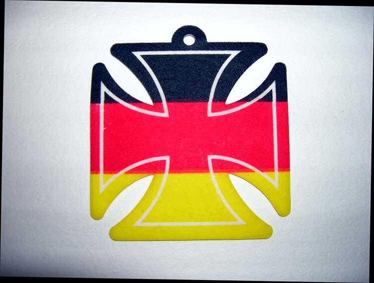 German Maltese Iron Cross Air Freshener