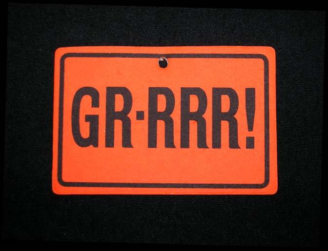 Pontiac GTO GR-RRR! Air Freshener