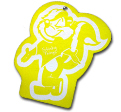 Yellow Skunk Air Freshener