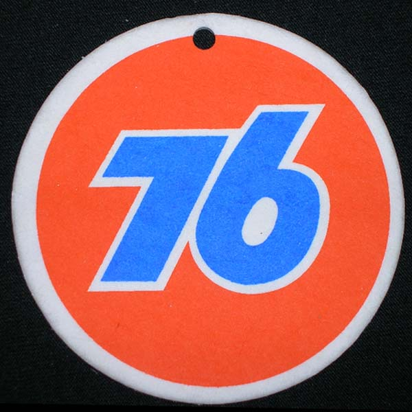 Union 76 Orange & Blue Air Freshener