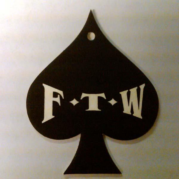 FTW Spade Air Freshener