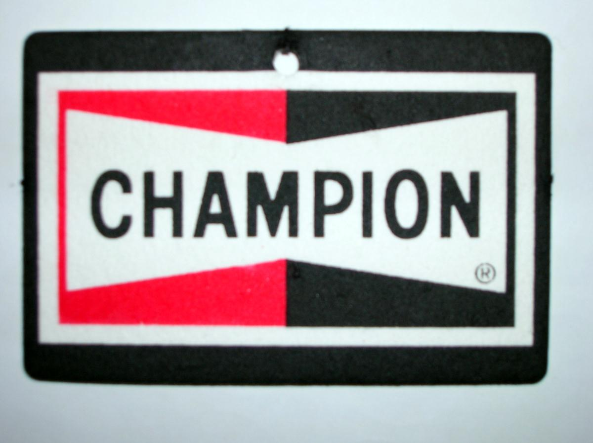 Champion Spark Plugs Car Air Freshener