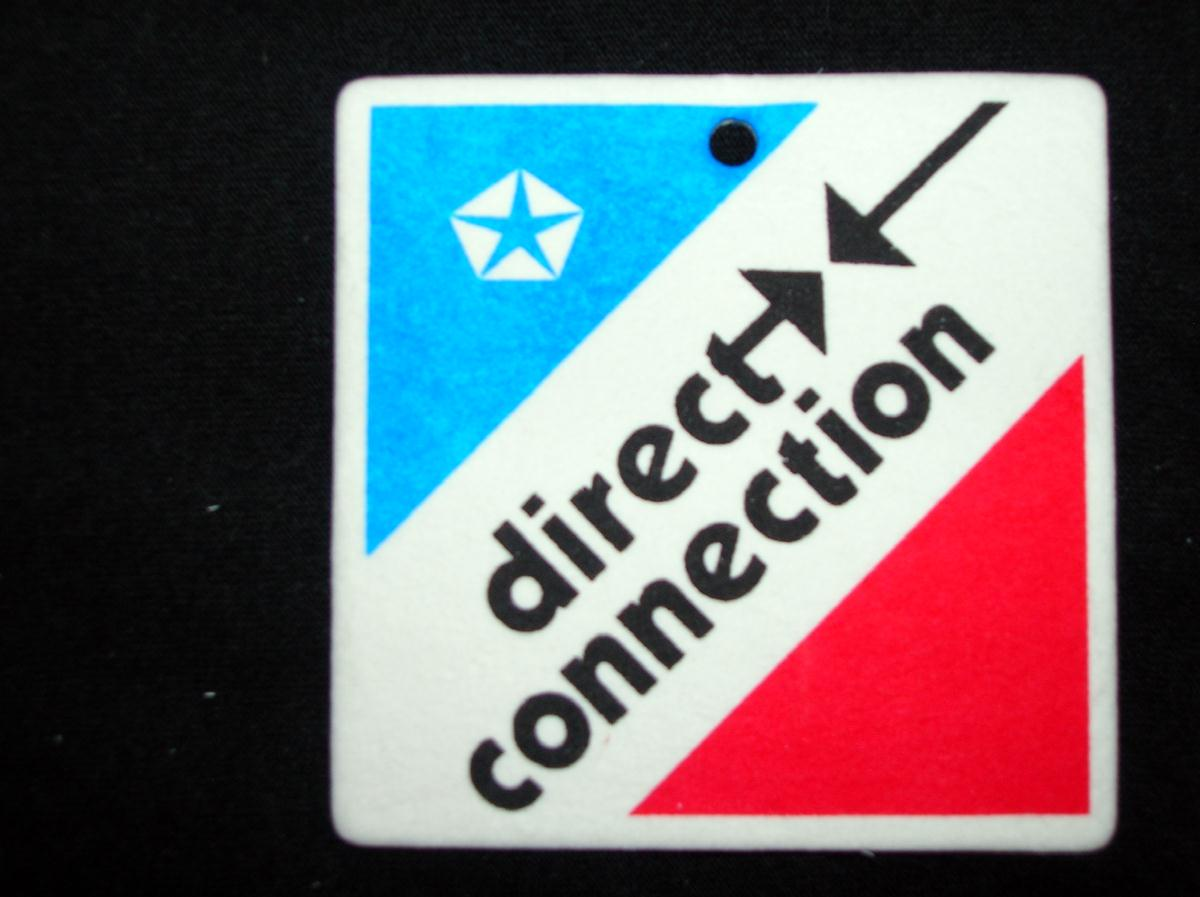 Direct Connection Car Air Freshener