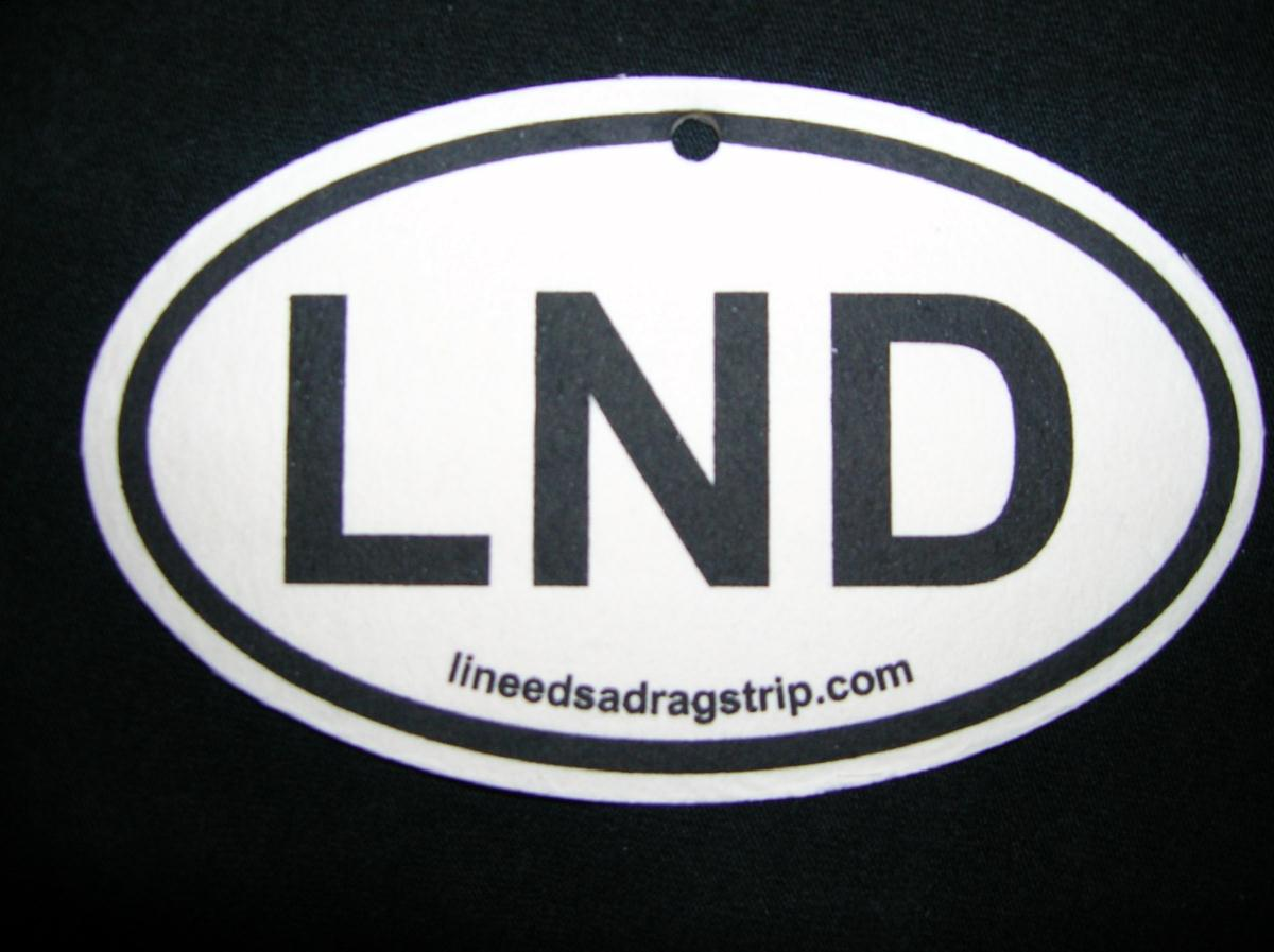 Long Island Needs A Dragstrip LND Car Air Freshener