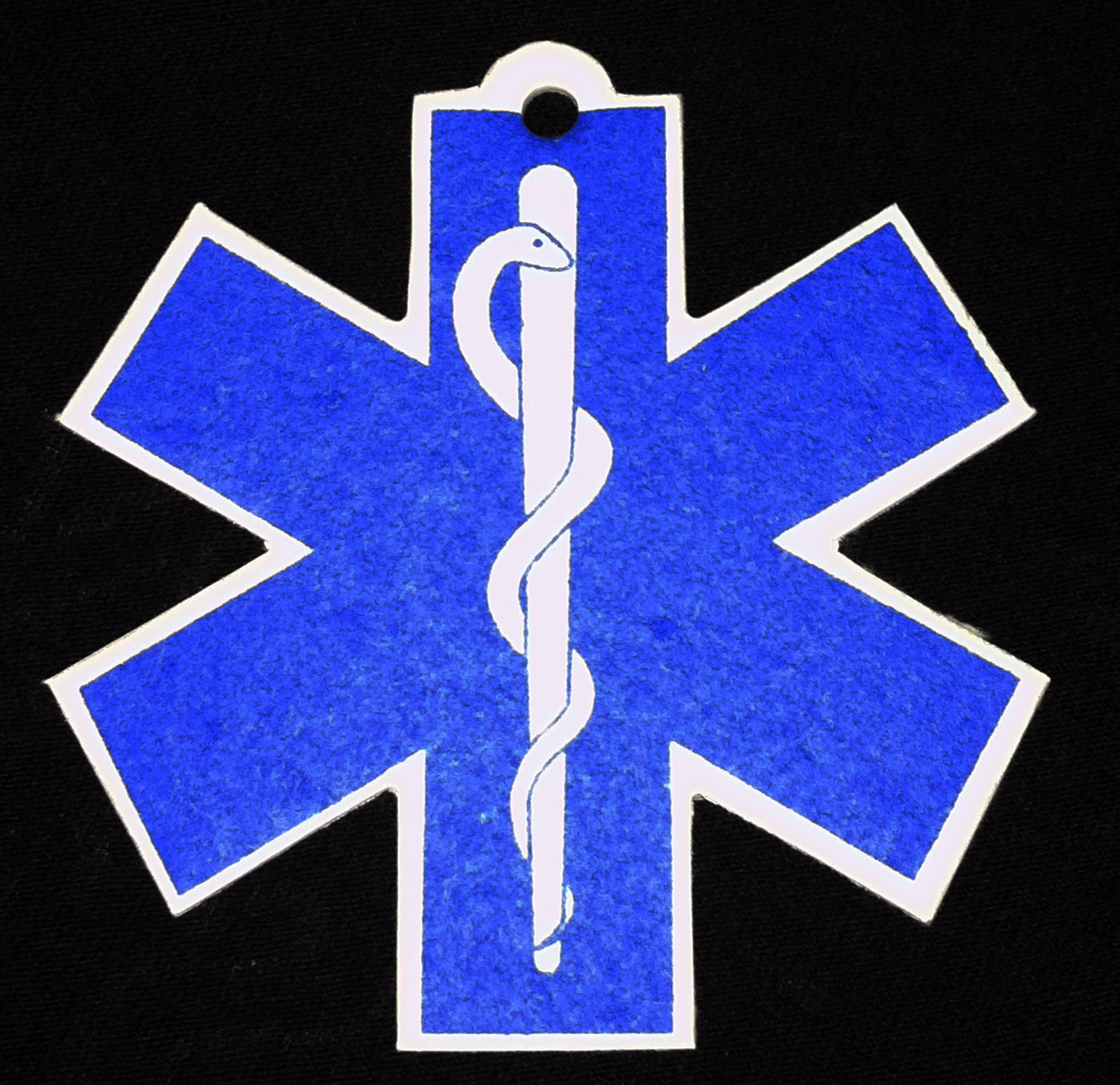 Star of Life EMS EMT Car Air Freshener