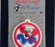 No Bozos No Clowns Car Air Freshener
