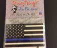 Thin Blue Line American Flag Air Freshener
